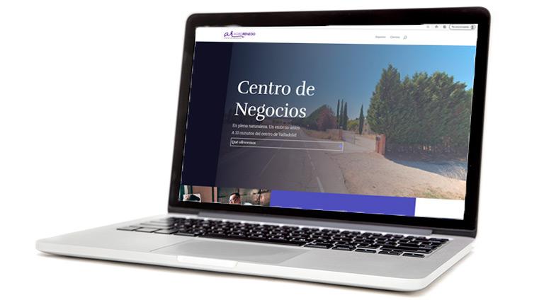 Desarrollo web Centro de Negocios Agrorenedo