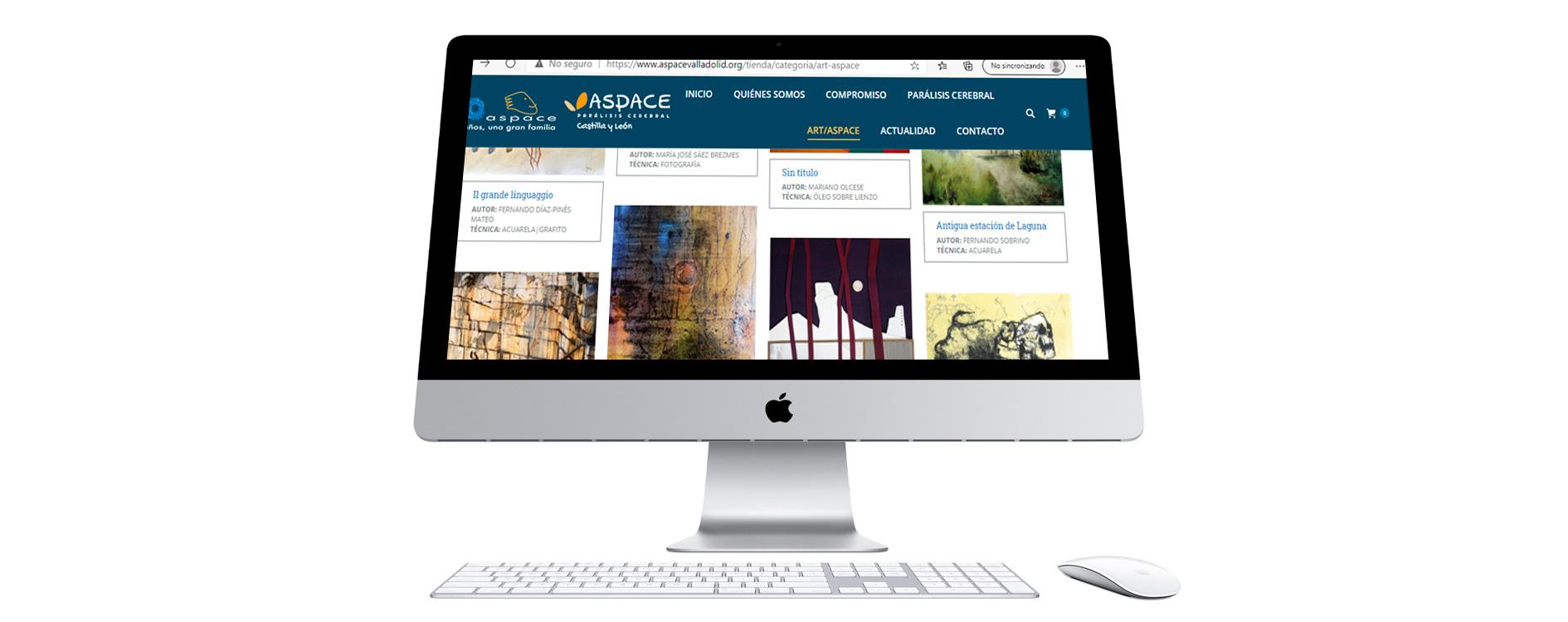 Exposición online de Aspace