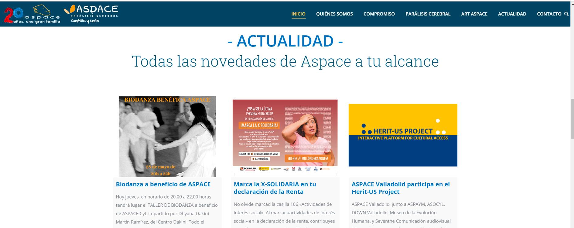 Web ASPACE
