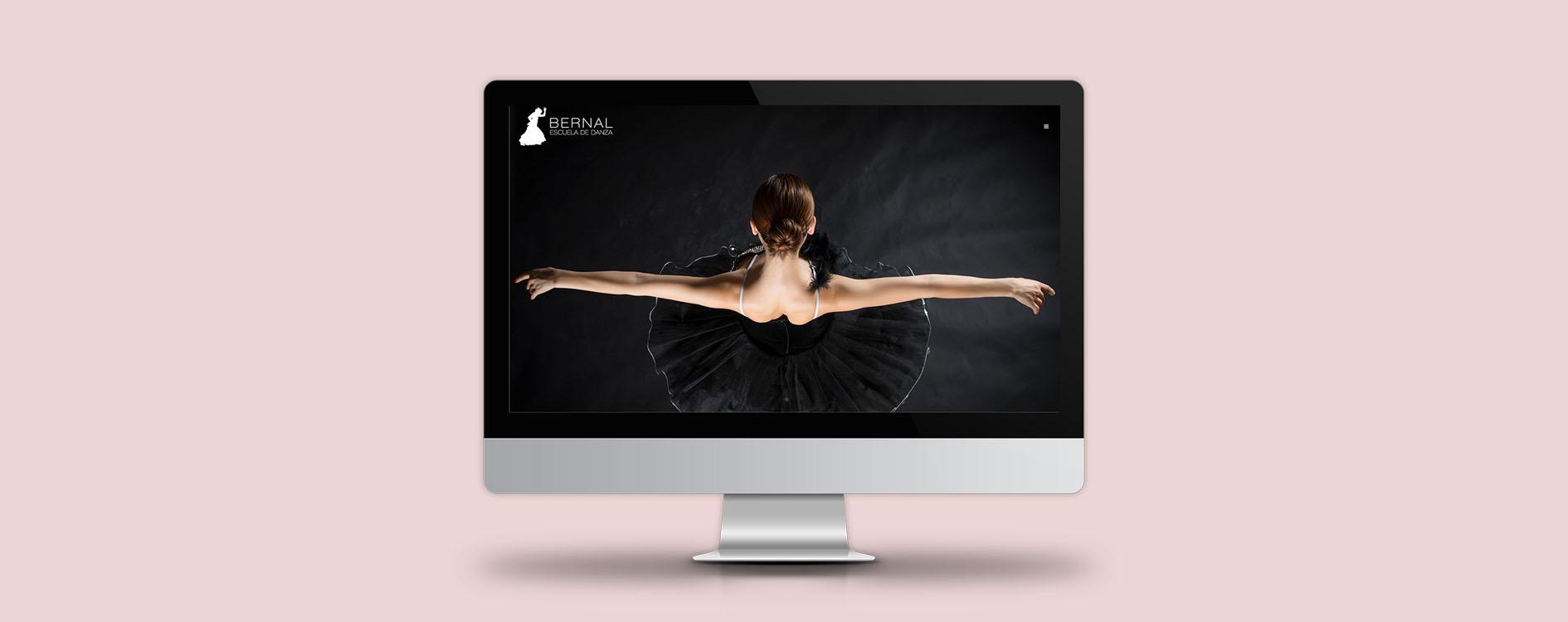 Diseño web responsivo para Bernal Escuela de Danza en Valladolid