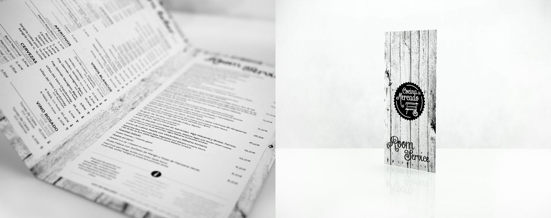 Proyecto de diseño gráfico para Novotel, cocina de mercado para España y Portugal