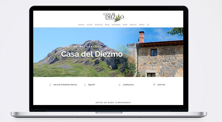 Desarrollo web Casa del Diezmo