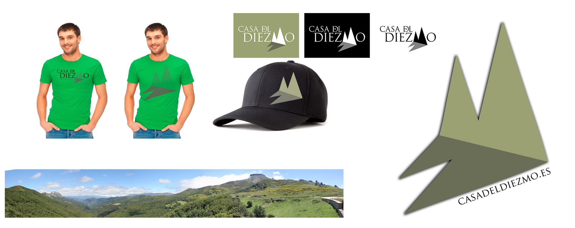 Desarrollo de logotipo Casa del Diezmo