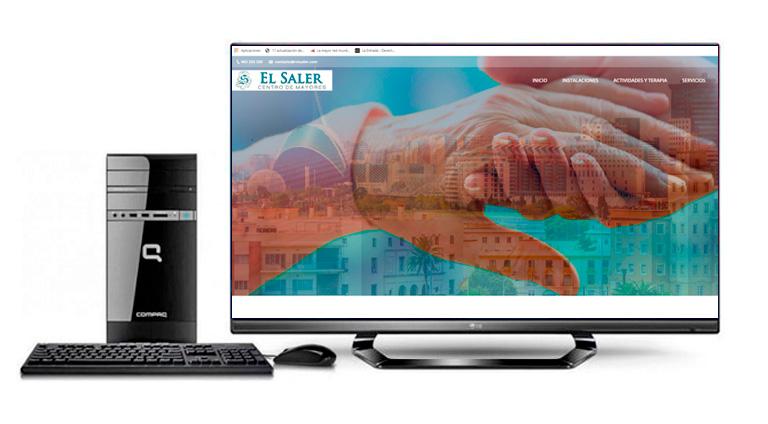 Web Centro de Mayores El Saler