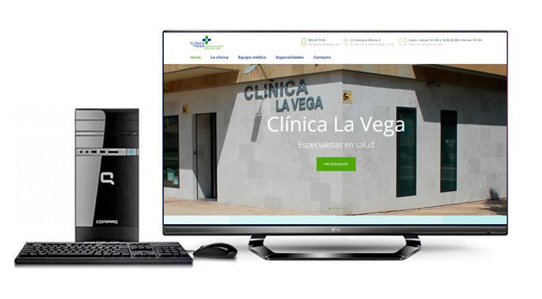 Web Clínica La Vega