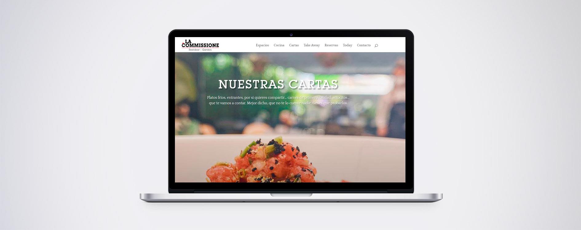 Desarrollo web La Commissione