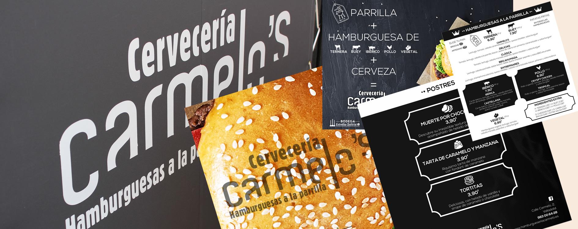 Cervecería Carmelo's con la agencia OH Visual