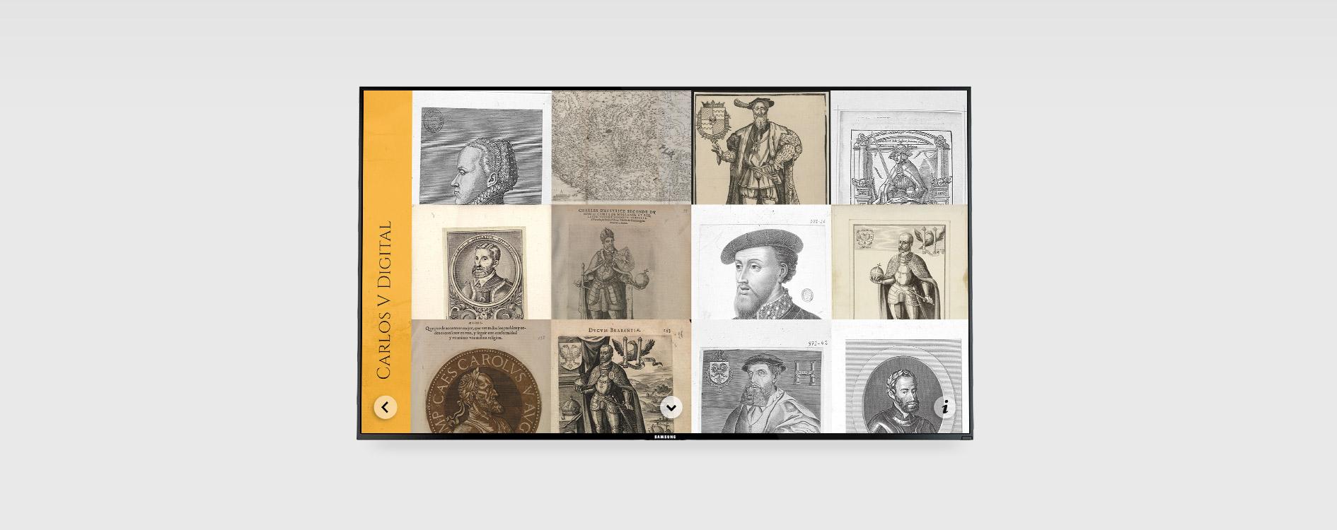 OHVisual - Interactivos - Audiovisuales Museo Carlos V - Ayuntamiento de Mojados