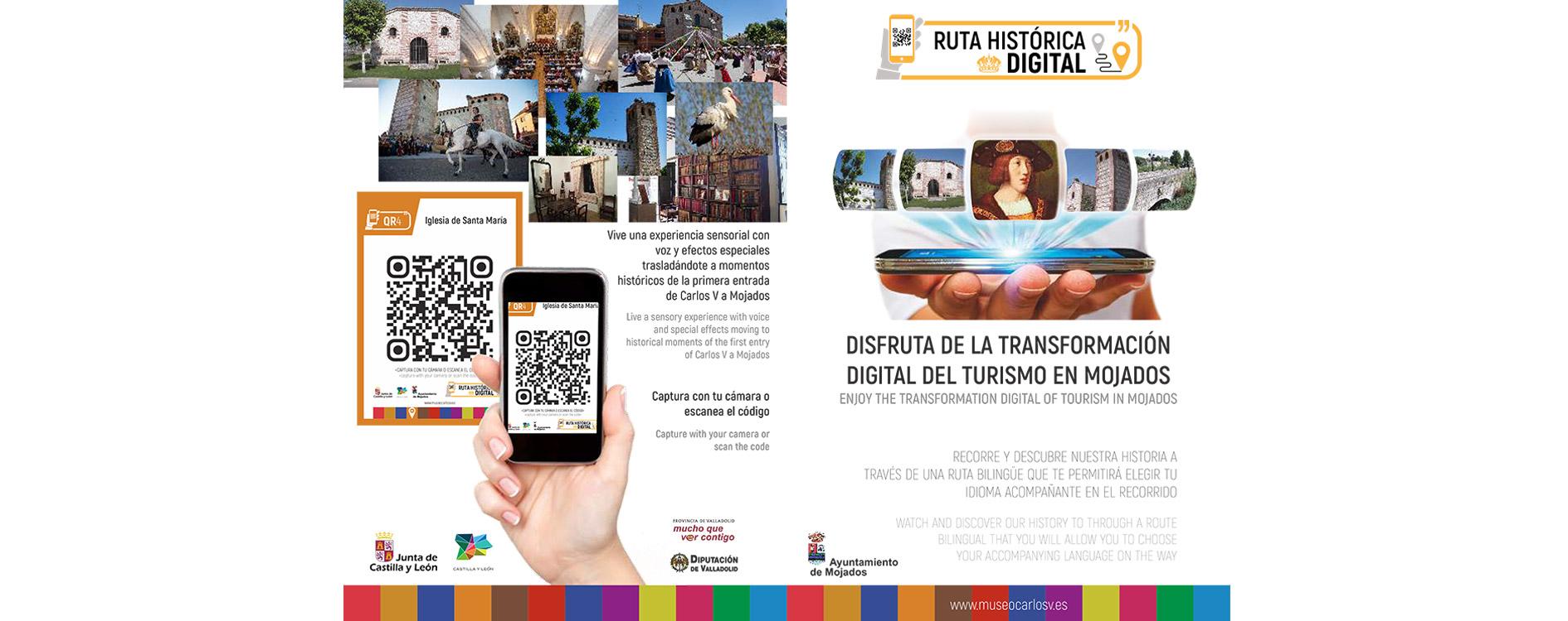 Ruta Histórica Digital Carlos V en Mojados