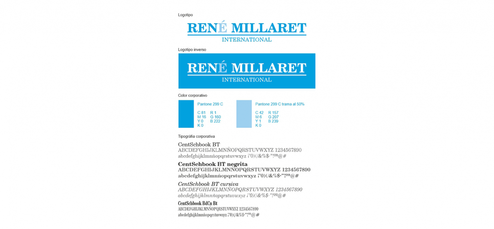 René Millaret International venta y distribución de papel