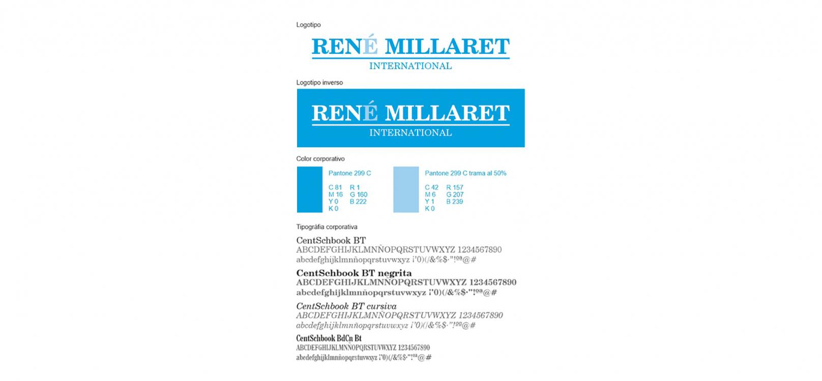 René Millaret International venta y distribución de papel