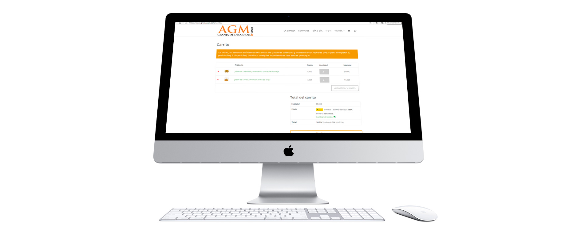 Tienda online de Granja AGM