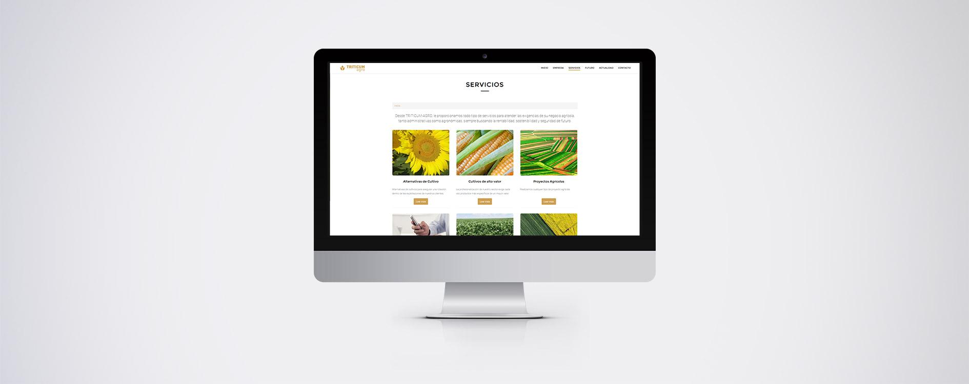 TRITICUM agro - Desktop
