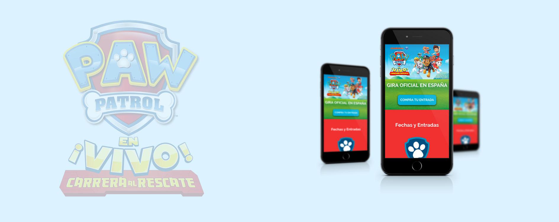 OHVisual - Digital And Online - La Patrulla Canina ¡En Vivo! | Gira Oficial en España